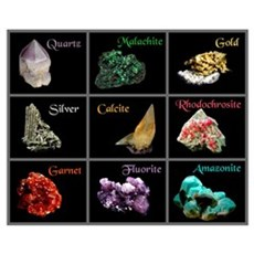 Mineral Collection Wall Art Canvas Art